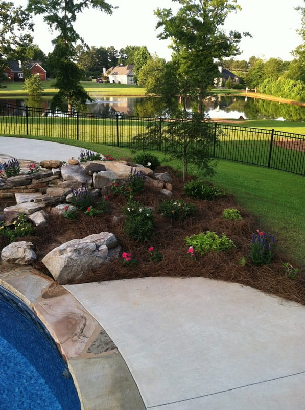 Providence Landscaping Pool Landscape