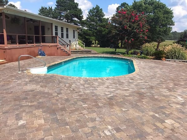 Providence Landscaping Pool Deck