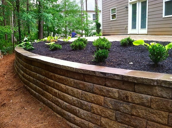 Providence Landscaping Retaining Wall