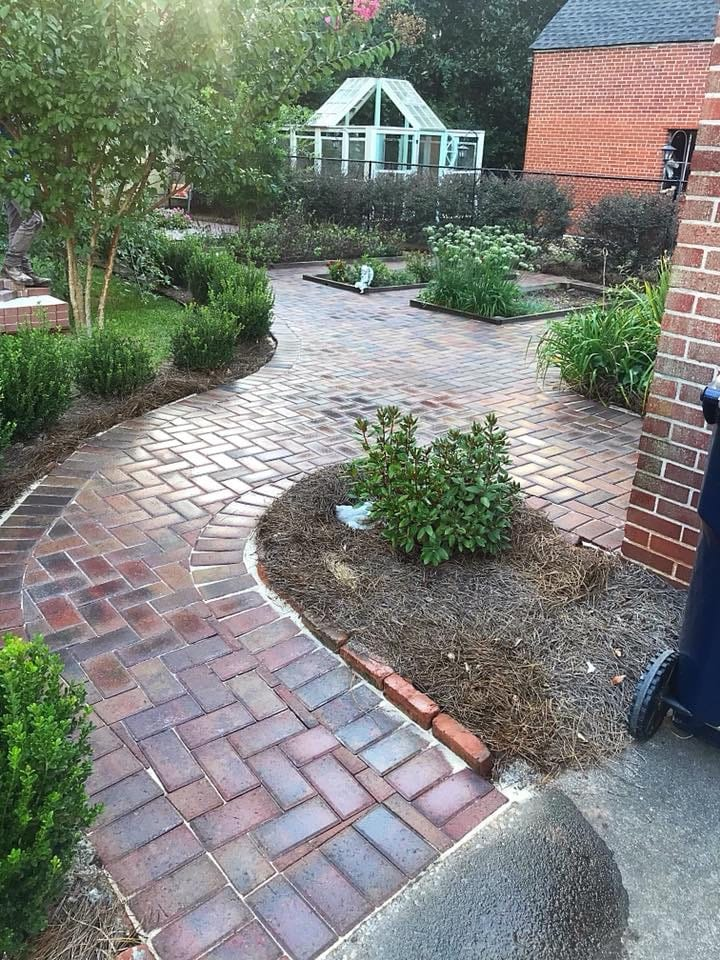 Providence Landscaping Patio and Walkway